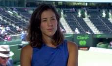 التصنيف العالمي للاعبات التنس: موغوروزا تحتفظ بالصدارة
