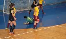 فرق المربع الذهبي تحسم تأهلها في بطولة لبنان للسيدات بكرة الصالات