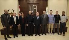 اتفاقية تعاون بين الجامعة الأنطونية والاتحاد اللبناني لكرة القدم