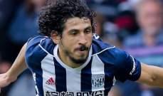 ليفربول يريد مدافع ويست بروميتش أحمد حجازي