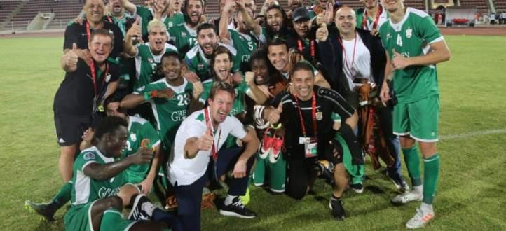 فيديو: جمهور الأنصار يستقبل اللاعبين في مطار بيروت