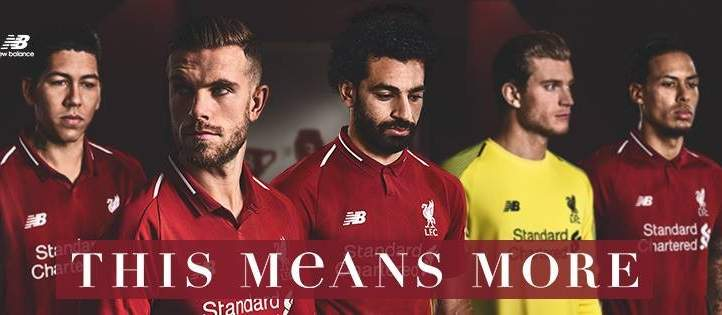 ليفربول يكشف عن قميصه للموسم القادم
