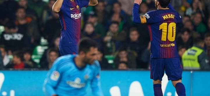 اهداف برشلونة في مرمى ريال بيتيس
