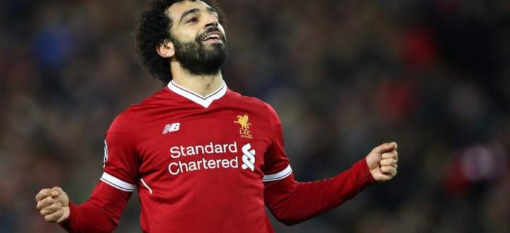 جماهير ليفربول تغني محمد صلاح