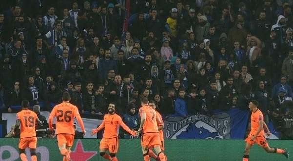 اهداف ليفربول الخمسة في مرمى بورتو