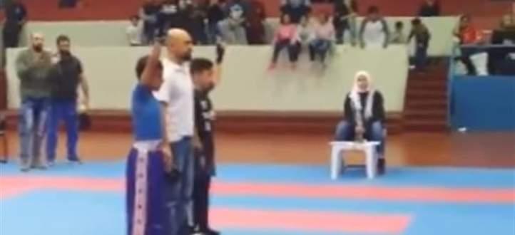 ولد يعتدى عليه بعد فوزه في مباراة بالكاراتيه