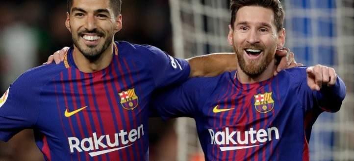 سواريز وميسي لبيكيه: تقاعد عن لعب كرة القدم!