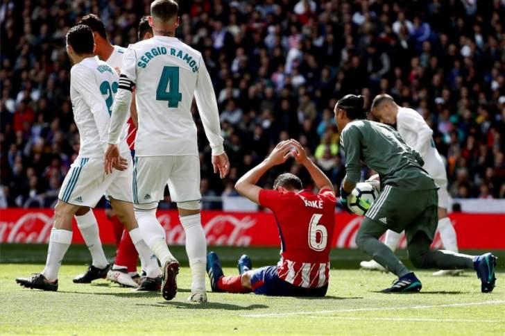 التعادل الايجابي يخيم على دربي مدريد وبرشلونة المستفيد الاكبر