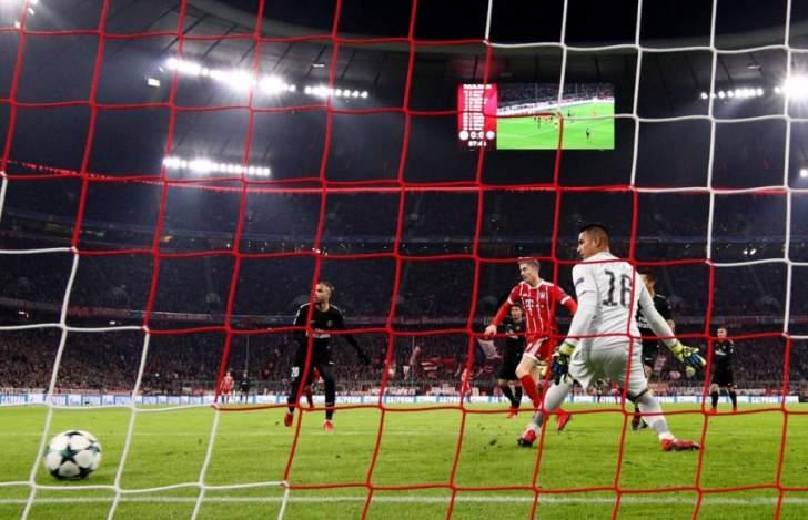 هدف بايرن ميونيخ الاول صحيح  ولا حالات خطيرة في مباراة البرشا
