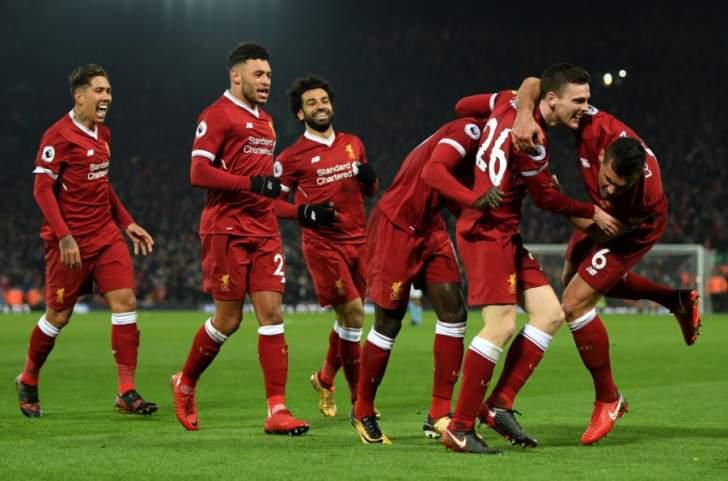 ليفربول يسقط السيتي للمرة الاولى هذا الموسم في ليلة الاهداف الغزيرة