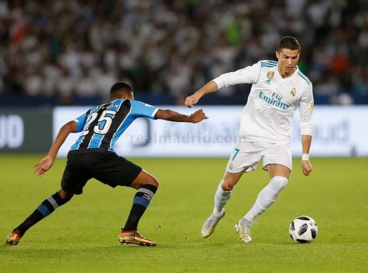 رونالدو يمارس هوايته المفضلة ويهدي الفريق الملكي لقب كأس العالم