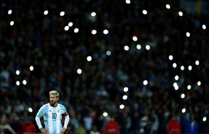 ميسي يلحق الارجنتين بالبرازيل اوروغواي وكولومبيا وتشيلي تودع المونديال