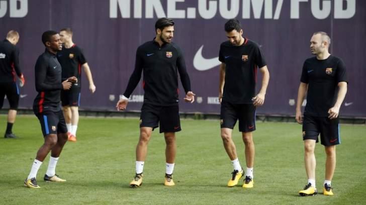 تدريبات برشلونة تشهد عودة 6 دوليين