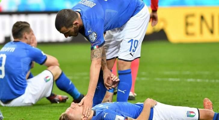 إيطاليا وبصيص أمل ضئيل للمشاركة في كأس العالم 2018