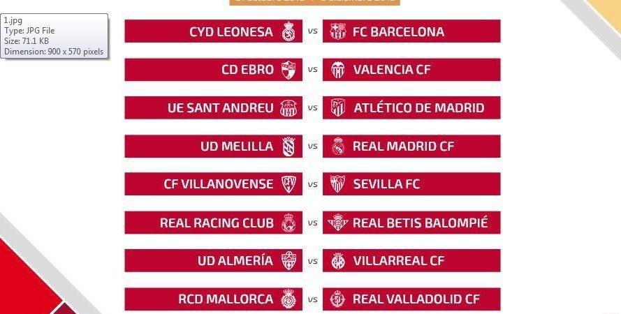 1329759 1539947349 - مواجهات سهلة لبرشلونة ريال مدريد واتلتيكو في دور ال32 لكاس الملك